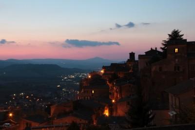 orvieto-tramonto