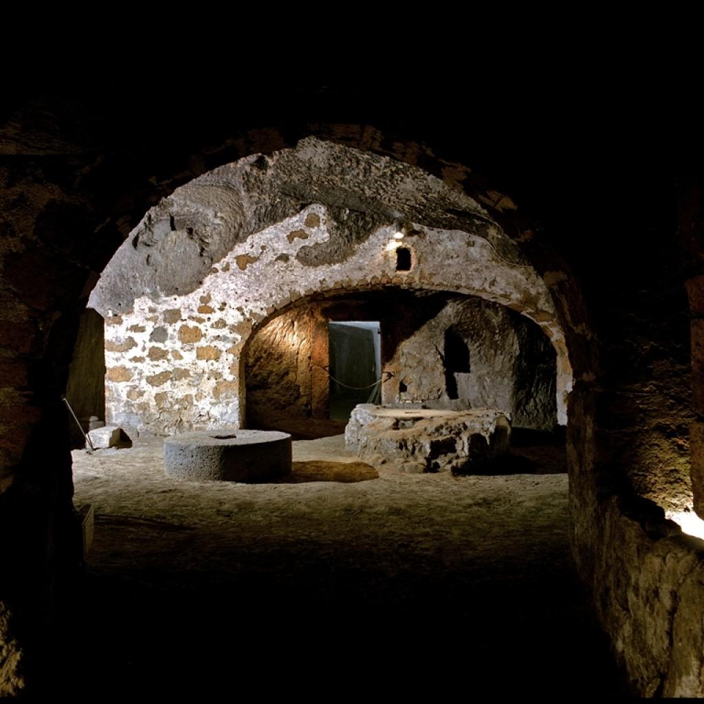 veduta di orvieto underground